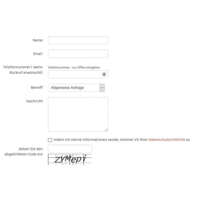 Kontakt-Formular zum Festpreis