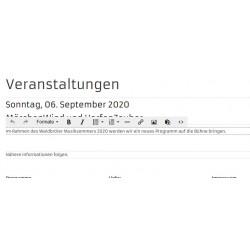 Editierbarkeit einer Seite